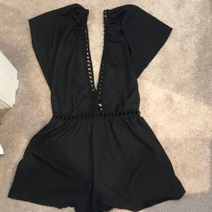 Tobi Other - Black romper